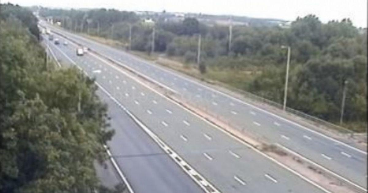 M6 Accident scene closure photos and videos
