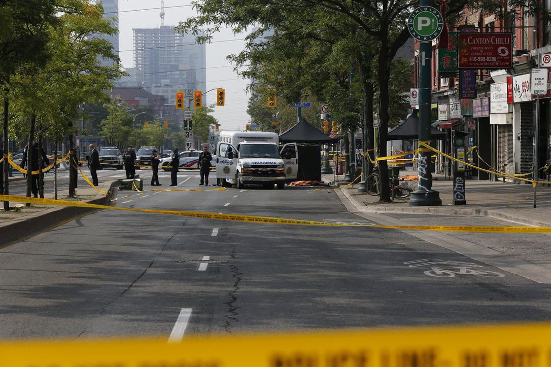 Kensington Market shooting kills two dead, two others in critical condition